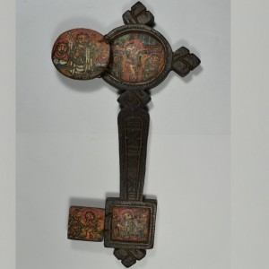 Ethiopian cross in wood
