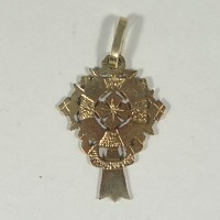 ethiopian cross necklace - Tigray