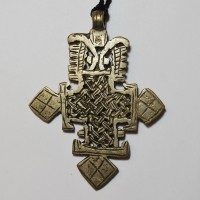 ethiopian cross necklace