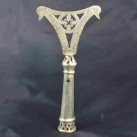 Ethiopian top of praying stick