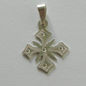 ethiopian cross necklace - Showa