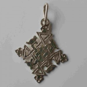 ethiopian cross necklace - Asmara